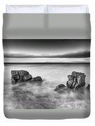 Ballycastle - Rock Face Duvet Cover