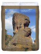 Rock Formation Belogradchik Duvet Cover