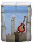 Rock Guitar Les Paul Custom Duvet Cover