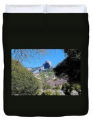 Rock In California Duvet Cover