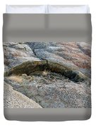 Rock Mouth Duvet Cover