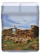 Rock Hills Prairie  Duvet Cover