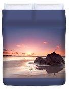 Rock Sunset 03 Duvet Cover