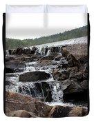Rock Water Duvet Cover