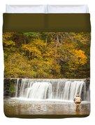 Rockbridge Fisherman Duvet Cover by Steven Bateson