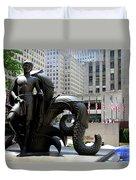 Rockefeller Plaza II Duvet Cover
