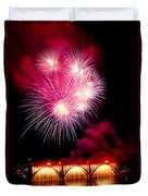 Rockets Red Glare Duvet Cover