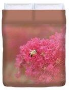 Rockin Pink Bee Duvet Cover