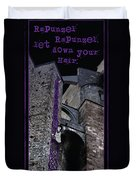 Rockin' Raven Celtic Rapunzel Duvet Cover