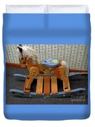 Rocking Horse Duvet Cover