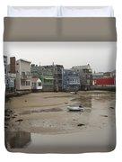 Rockport At Low Tide Duvet Cover