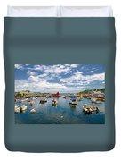 Rockport Harbor Duvet Cover