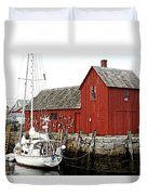 Rockport - Motif Number 1 Duvet Cover