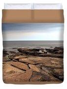 Rockport Rocks Duvet Cover