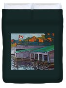 Rockport Roofs Duvet Cover