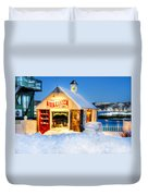 Rockport Winter Duvet Cover