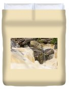 Rocks And Rapids Duvet Cover