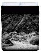 Rocks At Pt. Lobos Duvet Cover