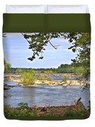 Rocks In The River Duvet Cover