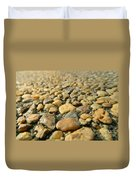 Rocks On My Path Duvet Cover