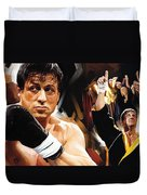 Rocky Artwork 2 Duvet Cover
