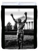 Rocky Balboa Duvet Cover by Bill Cannon