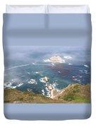 Rocky California Coast Duvet Cover