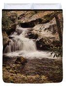 Rocky Fork Falls Duvet Cover