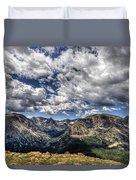 Rocky Mountain Dreams Duvet Cover