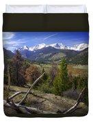 Rocky Mountain National Park Duvet Cover