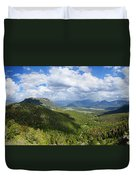 Rocky Mountain National Park Panorama Duvet Cover