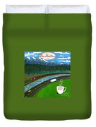 Rocky Mountains Duvet Cover
