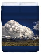 Rocky Mountains Duvet Cover