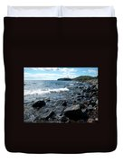 Rocky Shores Of Superior Duvet Cover