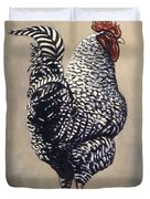 Rocky The Rooster Duvet Cover