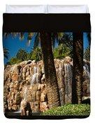 Rocky Waterfall 2 Duvet Cover