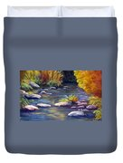 Rocky Waters Duvet Cover