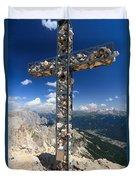 Roda Di Vael Cross Duvet Cover