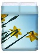 Rodchenko's Daffodils Duvet Cover