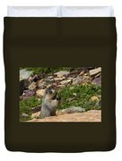 Rodent In The Rockies Duvet Cover