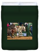 Rodeo Action Duvet Cover
