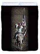 Rodeo America Duvet Cover