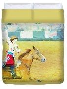 Rodeo Beauty Three Duvet Cover