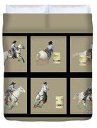 Rodeo Collage 2 Duvet Cover