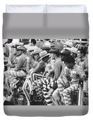 Rodeo Cowboy Prisoners Duvet Cover