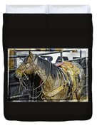 Rodeo Horse Two Duvet Cover
