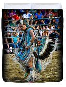 Rodeo Indian Dance Duvet Cover
