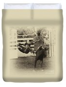 Rodeo Learning To Fly Duvet Cover