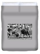 Rodeo Mexican Standoff Duvet Cover