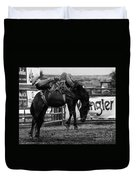 Rodeo Power Of Conviction Duvet Cover